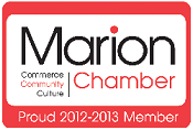 Marion Chamber logo